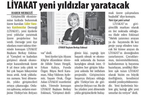 LİYAKAT' LI YILDIZLAR GELİYOR