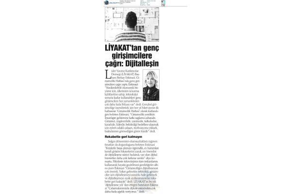 Lİyakat'tan genç girişimcilere çağrı: Dijitalleşin